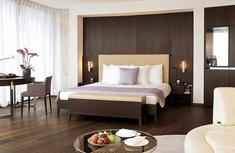 Guest room at Dolder Grand Hotel.
