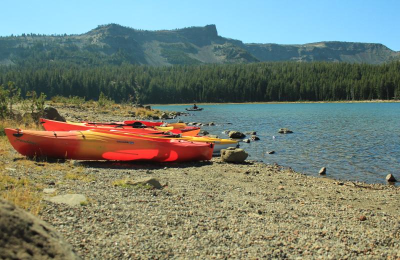Kayaking near Sisters Vacation Rentals.