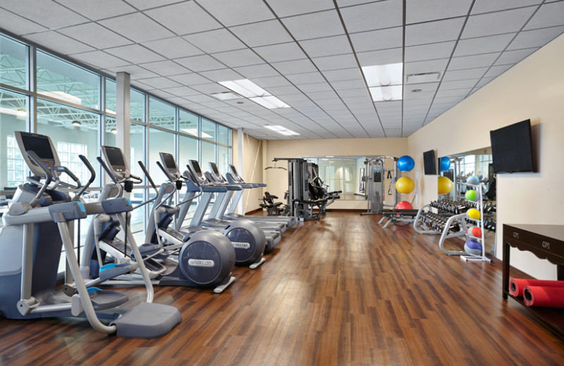 Gym at The Algonquin Resort St. Andrews by-the-Sea, Autograph Collection.