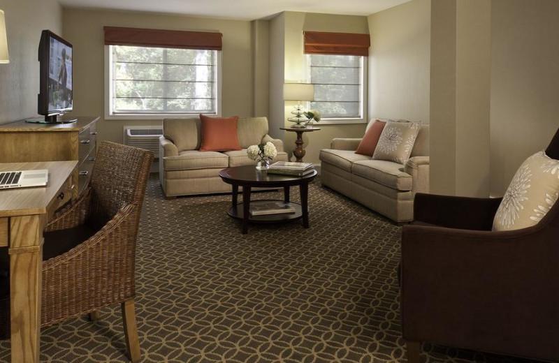 Guest Room at Westport Inn