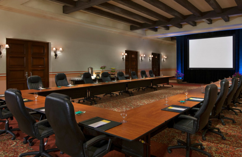 Meeting room at Sheraton Hacienda del Mar Resort & Spa.