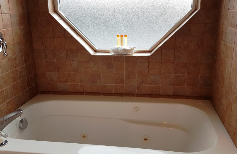 Bath tub at Carson Hot Springs Spa and Golf Resort.