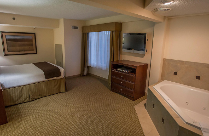 Guest room at Holiday Inn