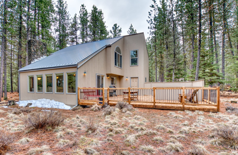 Rental exterior at Black Butte Ranch.