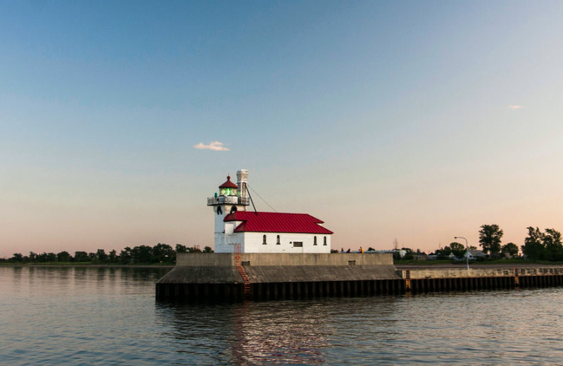 Lighthouse near Beacon Pointe Resort.