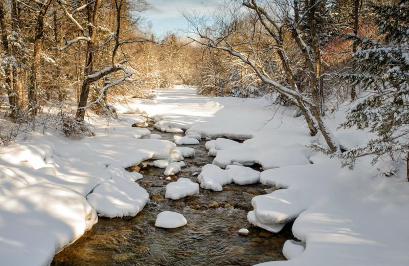 Stream near Silver Fox Inn.