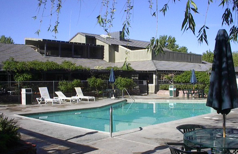 Outdoor pool at Silver Saddle Ranch & Club.