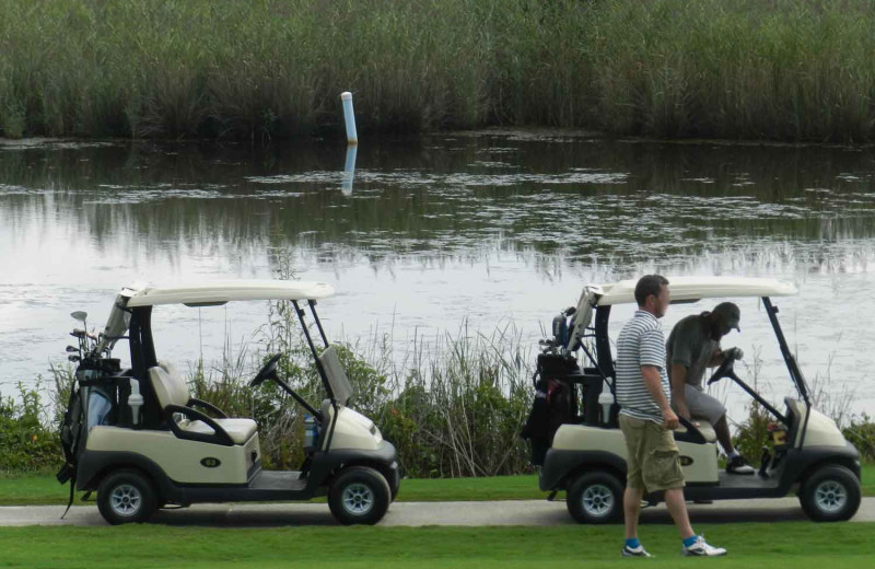 Free Golf with Atlantic Realty's Fun N Sun Program
