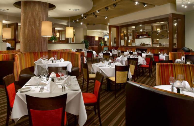 Dining at Aruba Marriott Resort and Stellaris Casino.