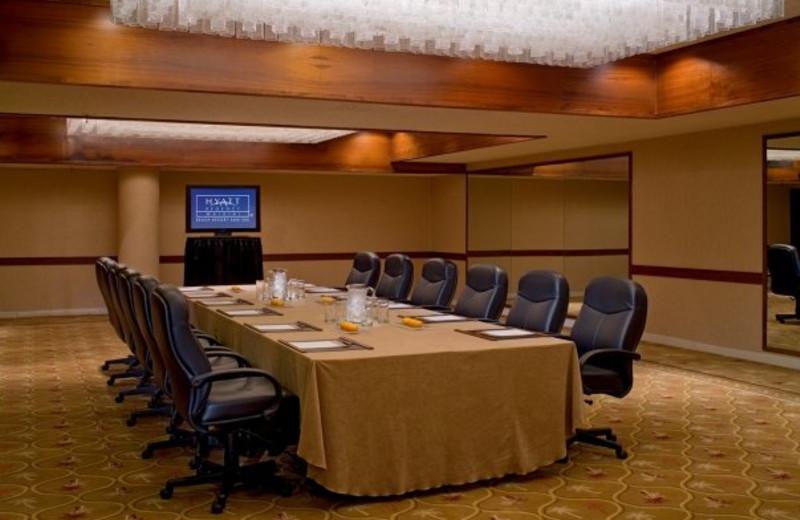 Conference room at Hyatt Regency Waikiki Resort & Spa.