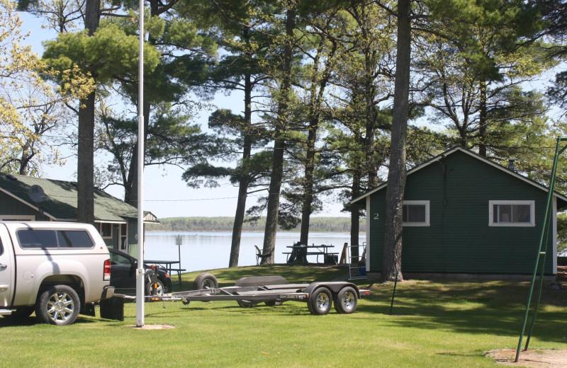 Cabins at Tamarac Resort & Campground.