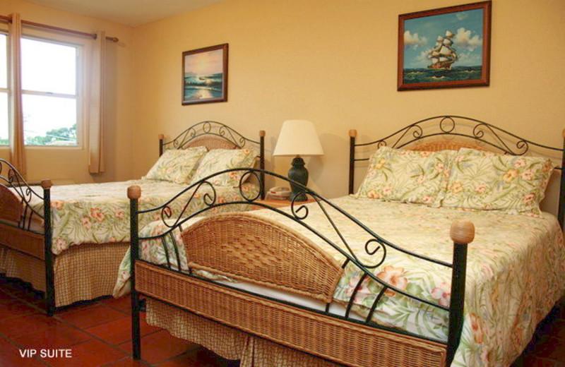 Guest room at Boqueron Beach Hotel.