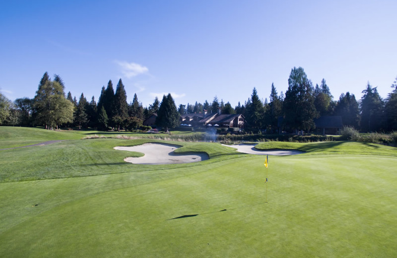 Golf at Semiahmoo Resort Golf and Spa.