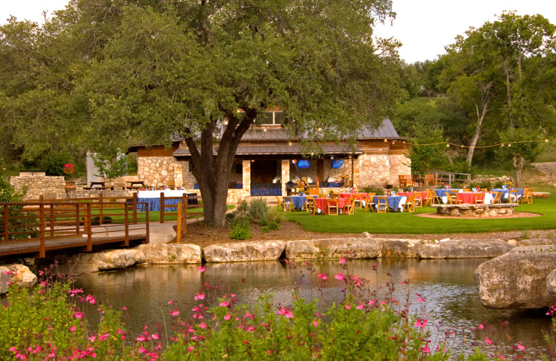 Reception at Omni Barton Creek Resort & Spa.