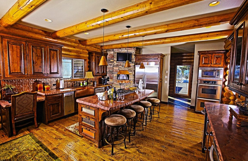 Kitchen at Bryce Canyon Estate.