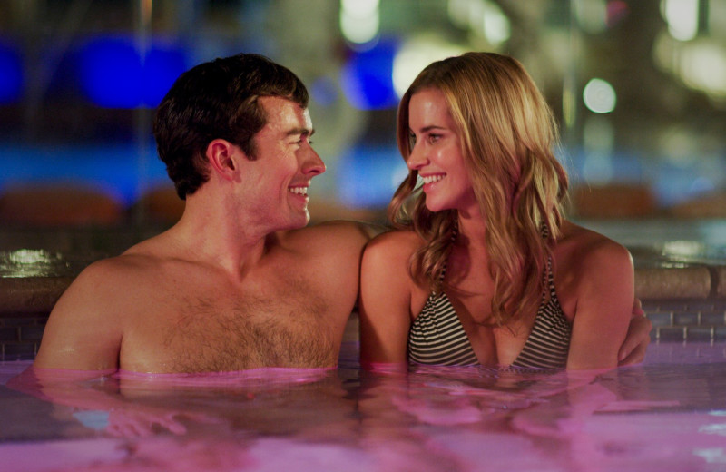 Couple in pool at Grand Sierra Resort and Casino.
