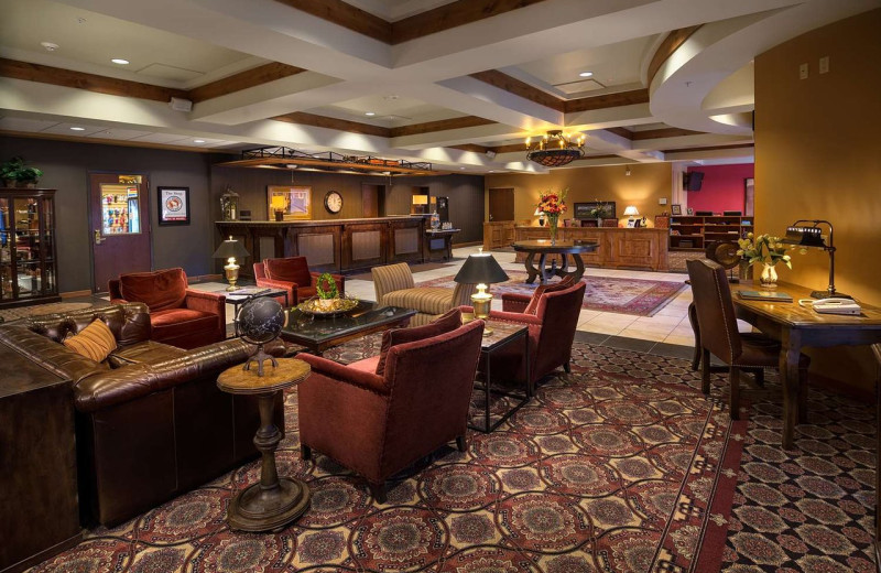 Lobby at Best Western Helena Great Northern Hotel.