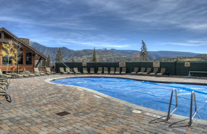 Rental pool at Hill Country Lake House.