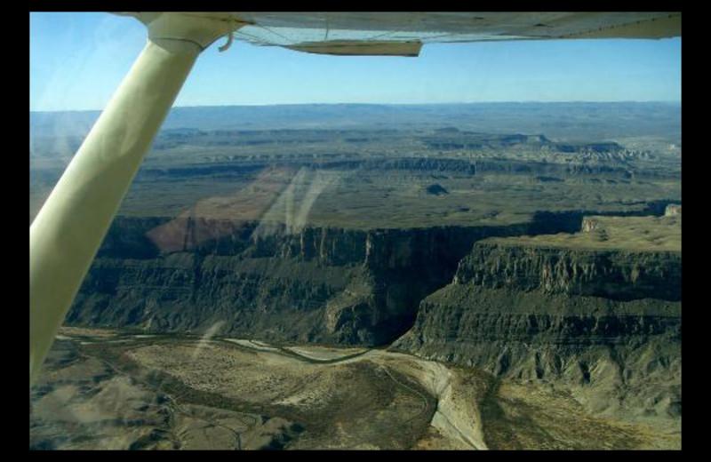 Scenic flights at Big Bend Resort & Adventures.