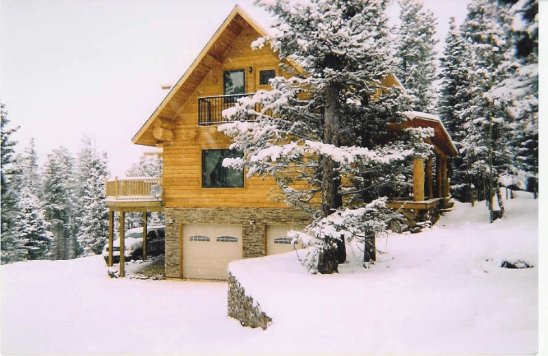Rental exterior at Resort Properties of Angel Fire.