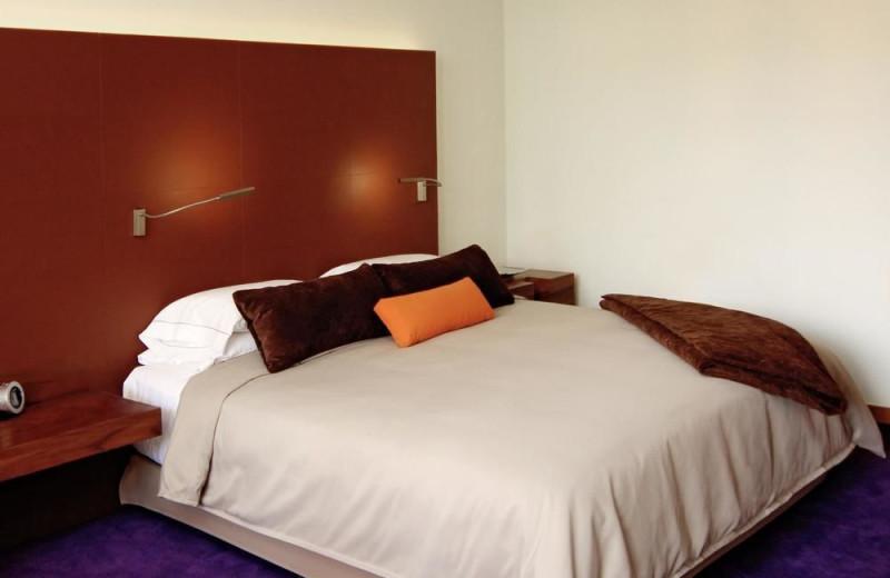 Guest room at Camino Real México City.