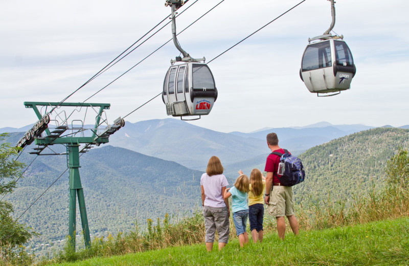 Family at All Mountain Rentals.