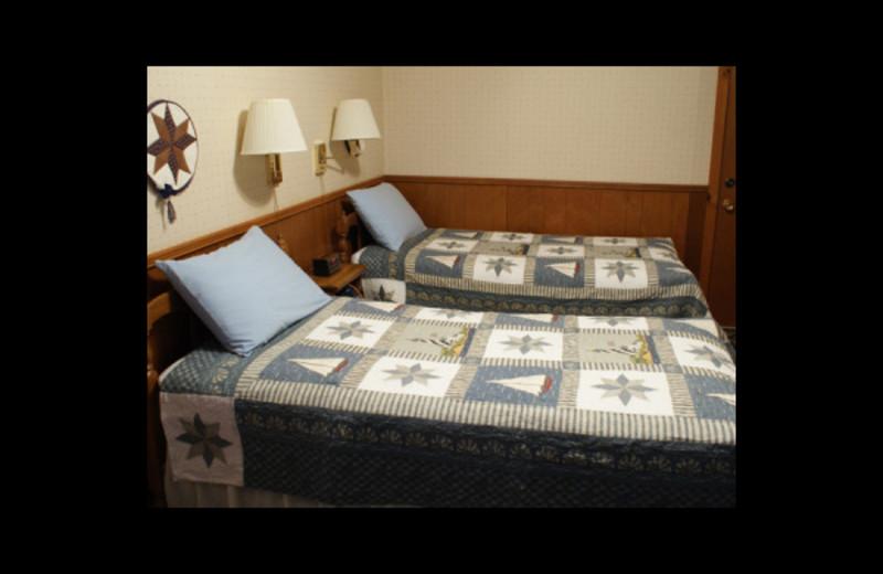 Inn room at Birch Bay Resort.