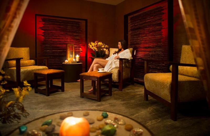 The spa at Eldorado Hotel.