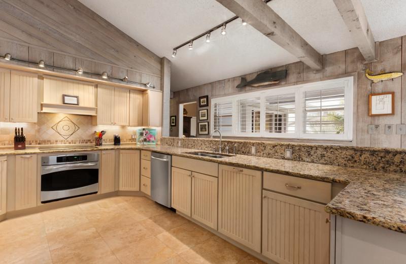 Rental kitchen at Florida Keys Vacations Inc.