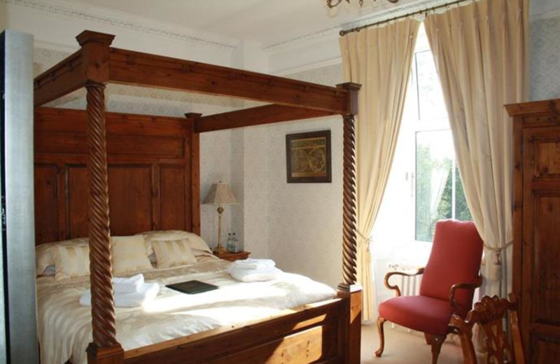 Guest room at Knock Castle Hotel.