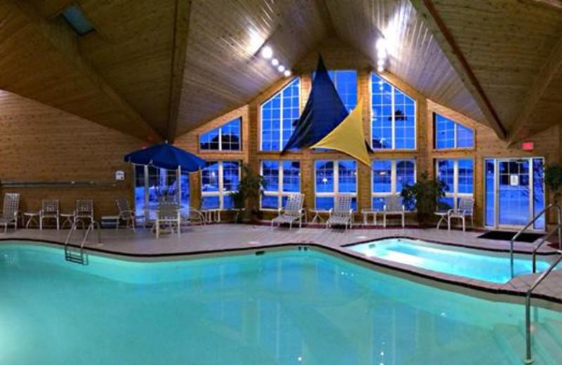 Indoor Pool at Baileys Harbor Yacht Club Resort