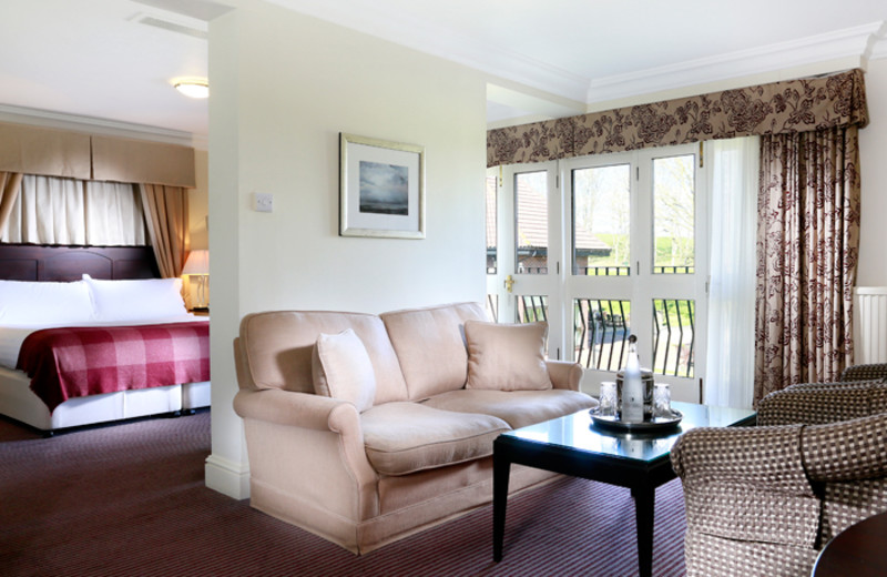 Guest room at Botley Park Hotel and Country Club.