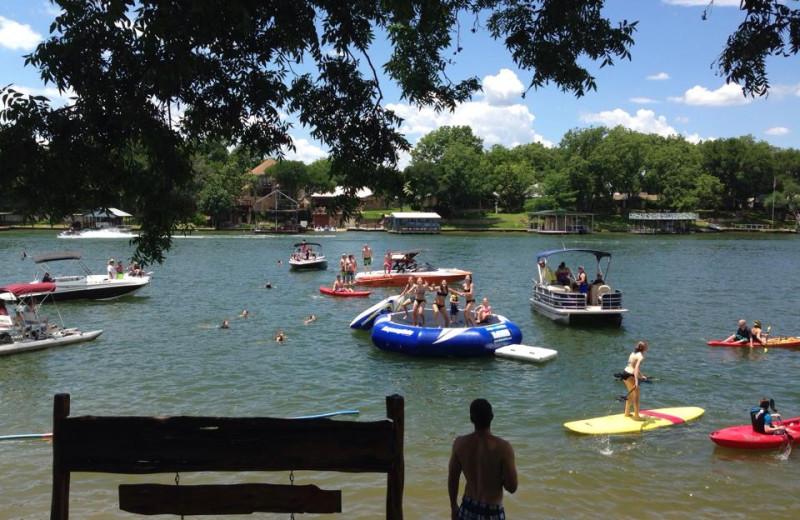 Lake view at Log Country Cove.