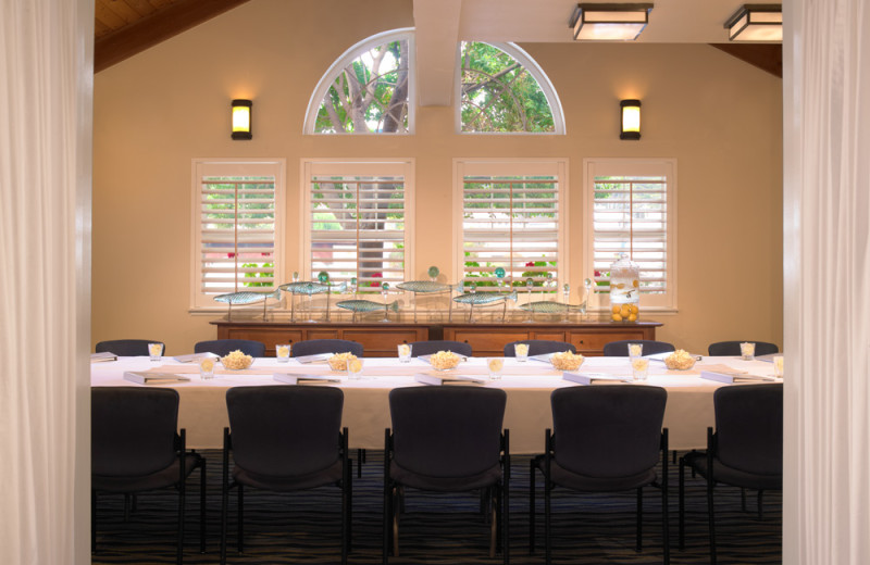 Meeting room at Beach House Hotel Half Moon Bay.