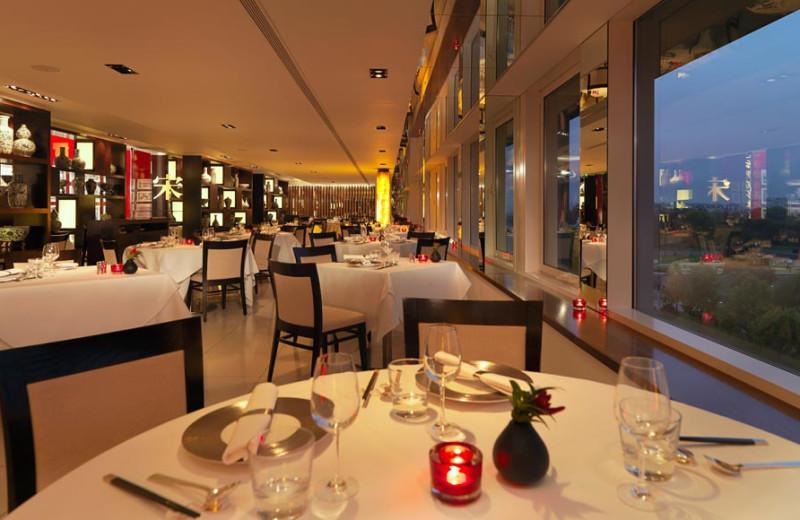 Dining at Royal Garden Hotel.