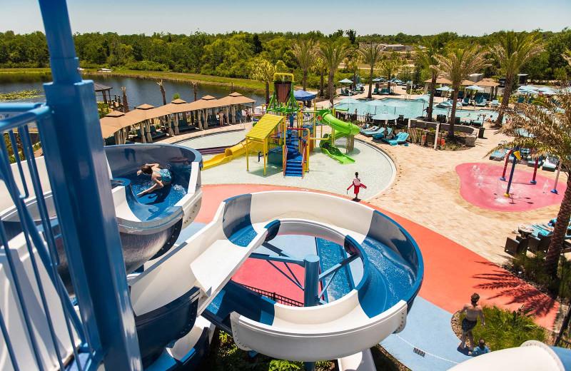 Water park at Balmoral Resort.