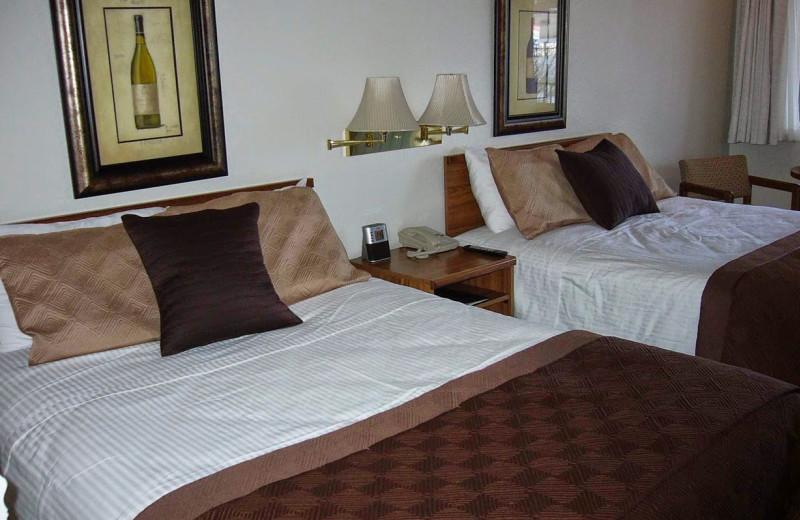 Guest room at Resort City Inn.