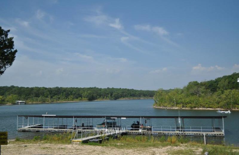 Lake view at Indian Hill Resort.