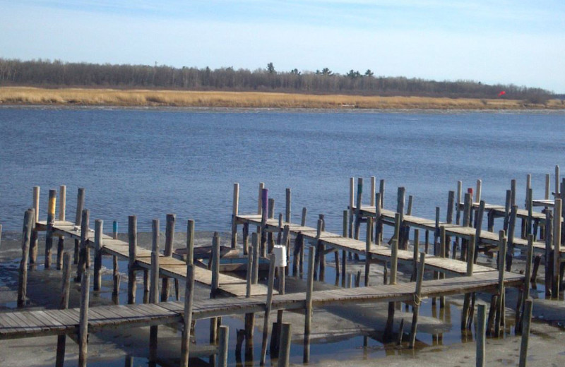 Docks at Adrian's Resort.