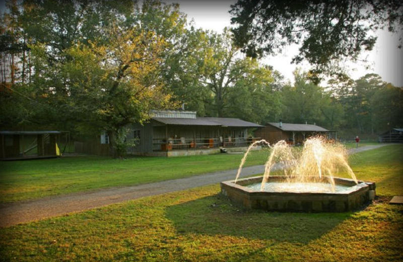 Fountain at Panther Valley Ranch.