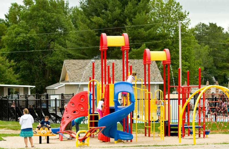 Playground at Shamrock Bay Resort.
