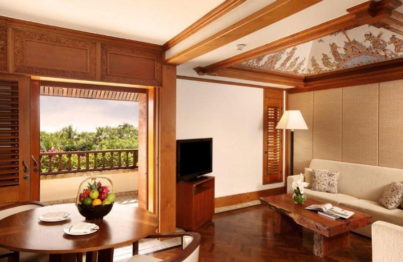 Guest room at Nusa Dua Beach Hotel and Spa.