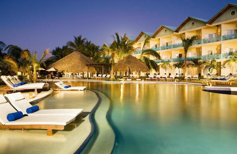 Outdoor pool at Dreams La Romana Resort & Spa.
