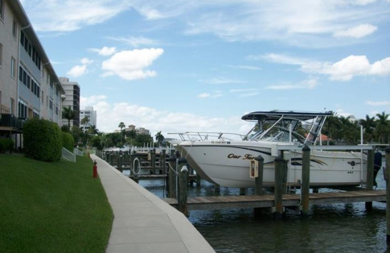 Rental dock at Phase III Real Estate.