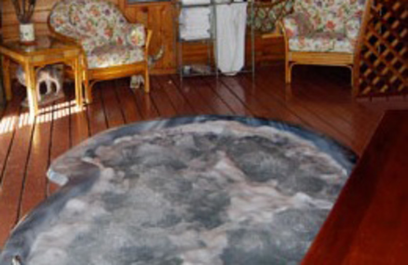 Jacuzzi at Howlers Inn Bed and Breakfast