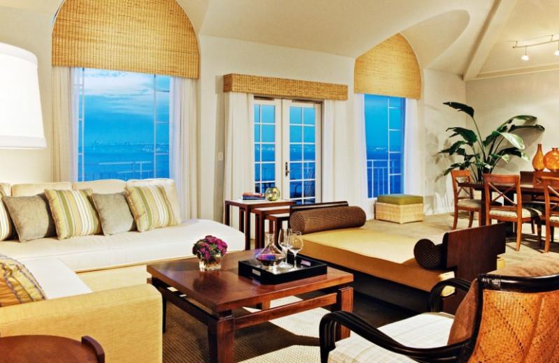 Suite interior at Loews Coronado Bay Resort.