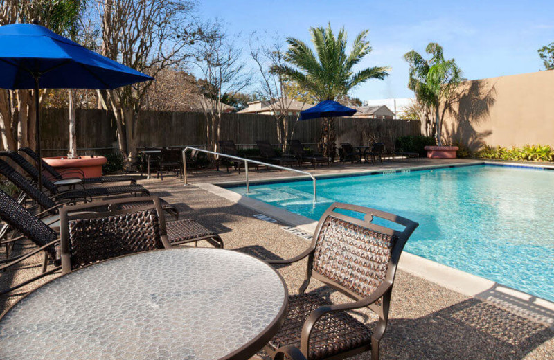 Outdoor Swimming Pool at Wyndham Houston - Medical Center Hotel and Suites