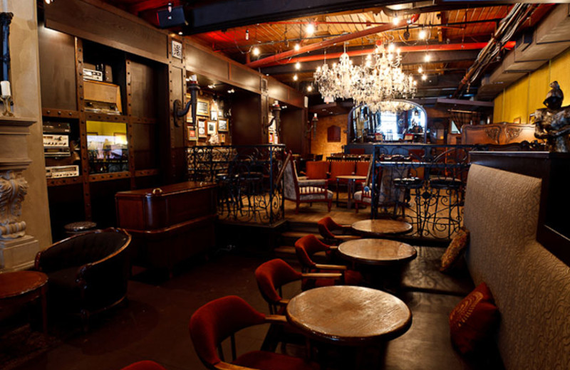 Restaurant view at Ramada Vancouver.