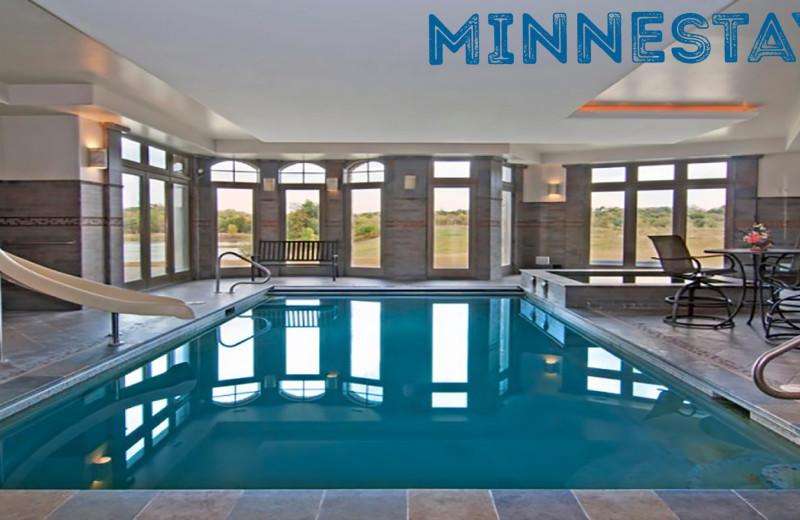 Rental pool at Minnestay.
