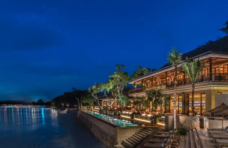Exterior view of Four Seasons Resort - Bali at Jimbaran Bay.